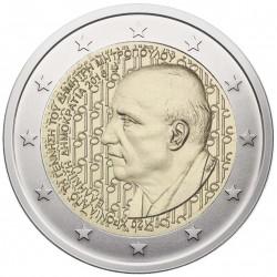 Graikija 2 eurai, 2016 D. Mitropulo gimimo 120 KM280