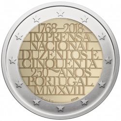Portugalija 2 eurai, 2018...