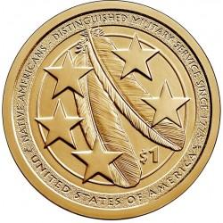 JAV 1 doleris, 2020 Indėnai JAV kariuomenėje UC129