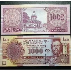 Paragvajus 1000 Guaranies,...