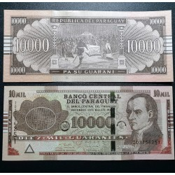 Paraguay 10000 Guaranies,...