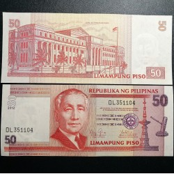 Filipinai 50 Piso, 2012...