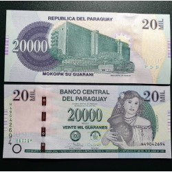 Paraguay 20 000 Guaranies,...