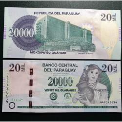 Paragvajus 20 000...
