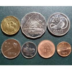 Fidžis 1992-2006, 7 vnt....