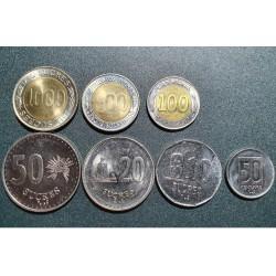 Ekvadoras 1988-1997, 7 vnt....