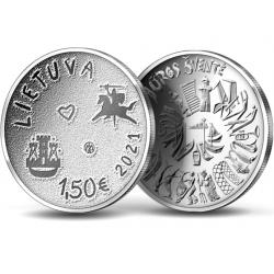 Lietuva 1,50 euro, 2021...