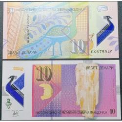 Makedonija 10 dinarų, 2020...