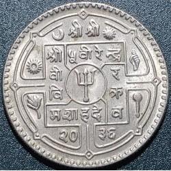 Nepalas 1 rupija, 1976-1979...