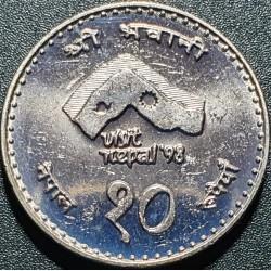 Nepalas 10 rupijų, 2054...