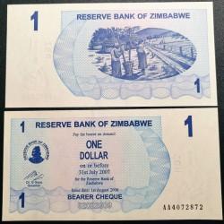 Zimbabvė 1 doleris, 2006 P-37