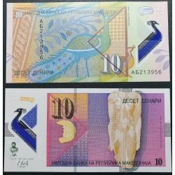 Makedonija 10 dinarų, 2018...