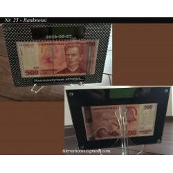 Rėmelis banknotui Nr. 25