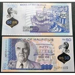 Mauricijus 50 rupijų, 2013...