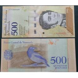 Venesuela 500 bolivarų,...