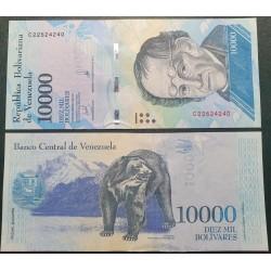 Venesuela 10 000 bolivarų,...