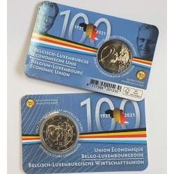 Belgija 2 eurai, 2021...