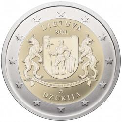 Lietuva 2 eurai, 2021 Dzūkija