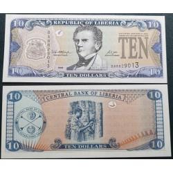 Liberija 10 Dolerių, 2006...