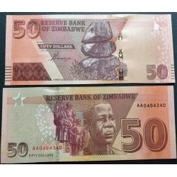 Zimbabvė 50 dolerių, 2020...