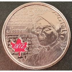 Kanada 25 centai, 2013 Laura Spalvota