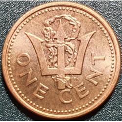 Barbadosas 1 centas, 1997...
