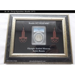 Frame for certified coin No...