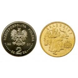 Lenkija 2 zlotai, 2001 Carolers
