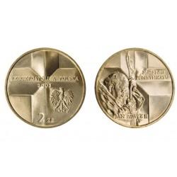 Lenkija 2 zlotai, 2003 John Paul II
