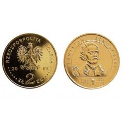 Lenkija 2 zlotai, 2003 Stanislaw I Leszczynski