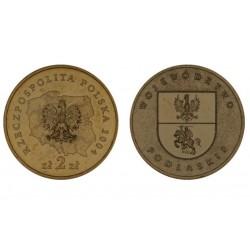 Lenkija 2 zlotai, 2004 Podlaskie Voivodeship