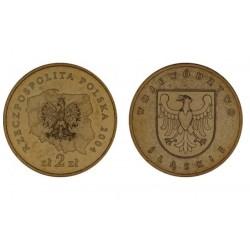 Lenkija 2 zlotai, 2004 Silesian Voivodeship