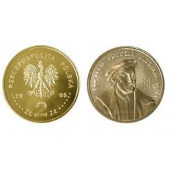 Lenkija 2 zlotai, 2005 Mikolaj Rej