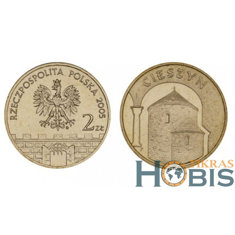 Lenkija 2 zlotai, 2005 Cieszyn