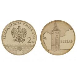 Lenkija 2 zlotai, 2006 Elblag