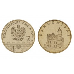 Lenkija 2 zlotai, 2006 Sandomierz