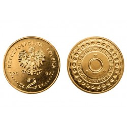 Lenkija 2 zlotai, 2007 Breaking Enigma Codes