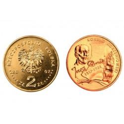 Lenkija 2 zlotai, 2007 Konrad Korzeniowski