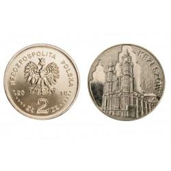 Lenkija 2 zlotai, 2010 Krzeszow