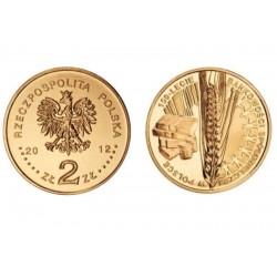 Lenkija 2 zlotai, 2012 Banking Co-operation