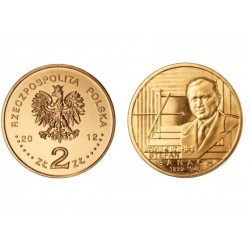 Lenkija 2 zlotai, 2012 Stefan Banach