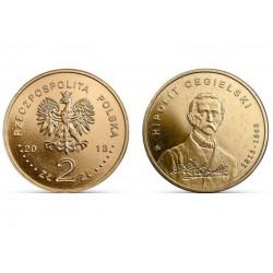Lenkija 2 zlotai, 2013 Hipolit Cegielski