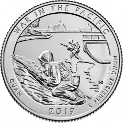 JAV 25 centai, 2019 War in the Pacific, Guam
