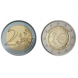 Prancūzija 2 eurai, 2009 EMU 10-metis