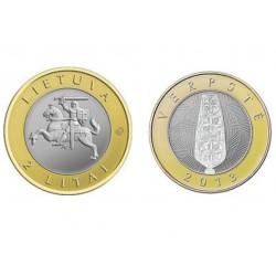 Lietuva 2 litai, 2013 Verpstė