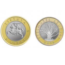 Lietuva 2 litai, 2013 Stelmužės ąžuolas