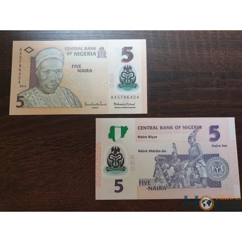 Nigerija 5 nairos, 2013 P-38d