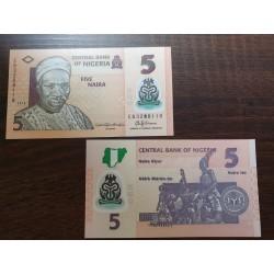 Nigerija 5 nairos, 2016 P-38g