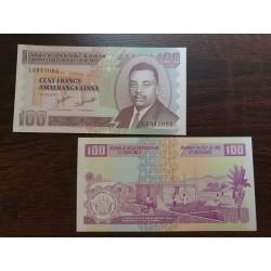 Burundis 100 frankų, 2010 P-44a