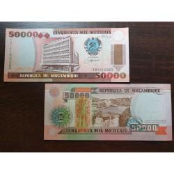 Mozambikas 50000 Meticais, 1993 P-138